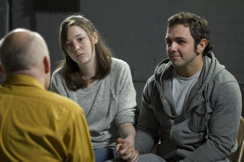 young couple having a therapy
